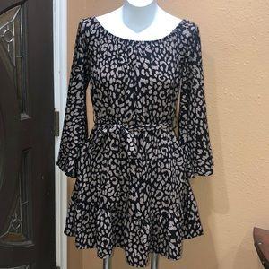 Vici flare sleeve dress